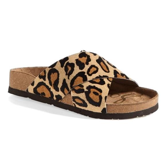 Sam Edelman Leopard Brahma Adora Sandal